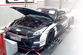PROFESSIONAL TUNING OF GT-R